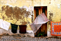 Colourful streets in Silves